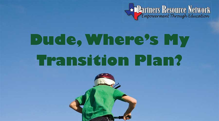 Dude, Where's My Transition Plan