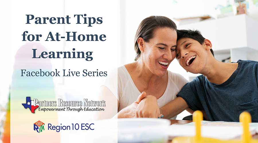 Parent Tips for At-Home Learning Facebook Live Series